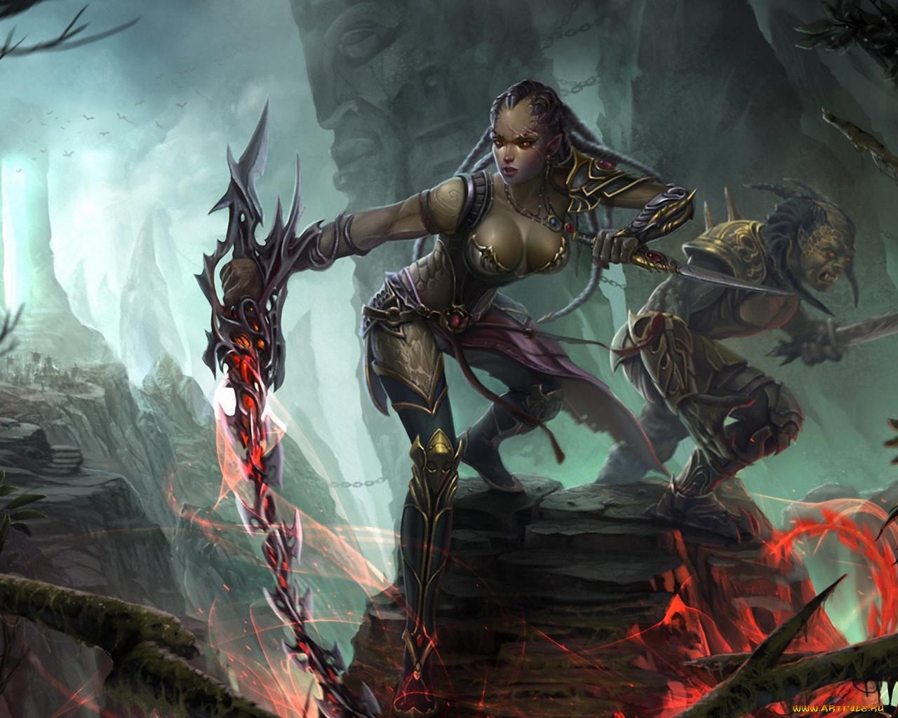 Goblin dwarf bangs woman hentia photos